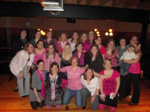 Our annual fundraiser, Real Ruggers Wear Pink, raises money for the local Susan G. Komen fund.