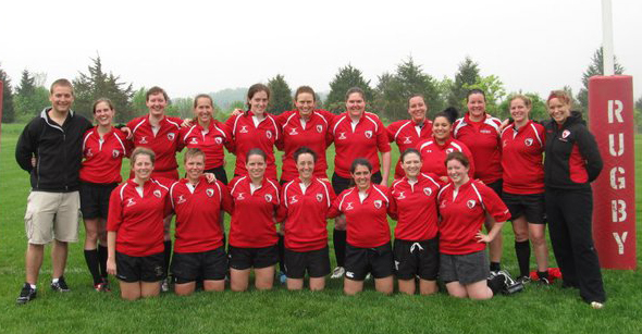 Wisconsin Women's Rugby - Spring 2011