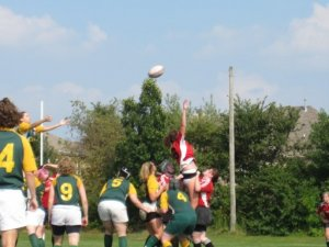 Lineout versus Chicago North Shore