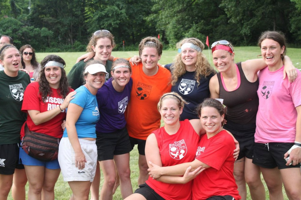 Madison Rugby Women and Friends at Whorefest Rugby Tournament, June 2011